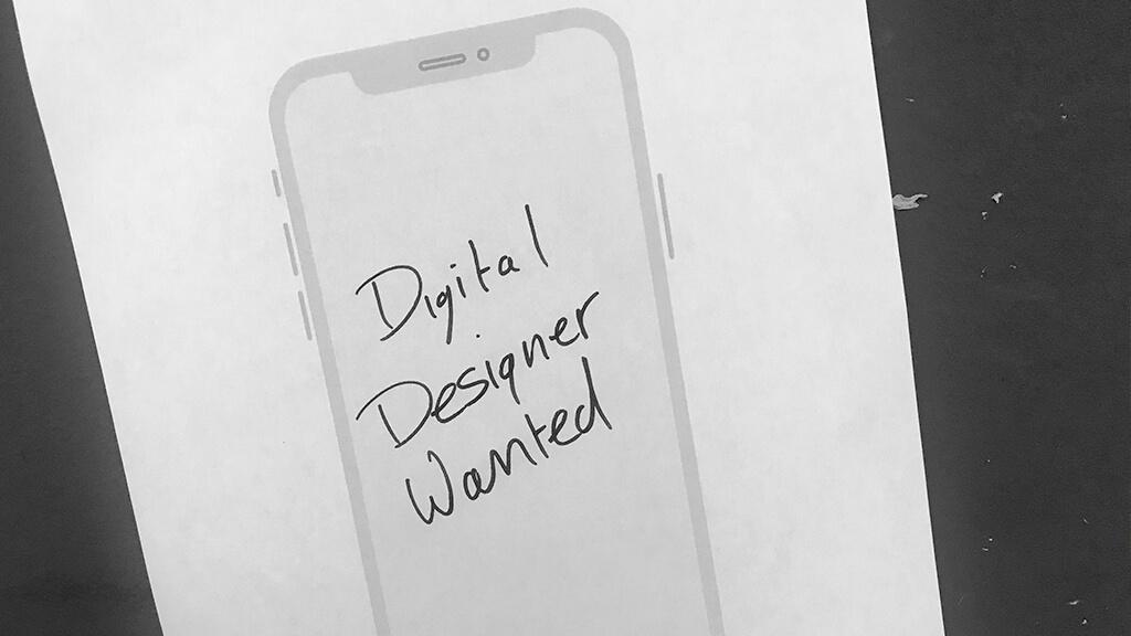 Digital Designer Wanted Designate Brighton