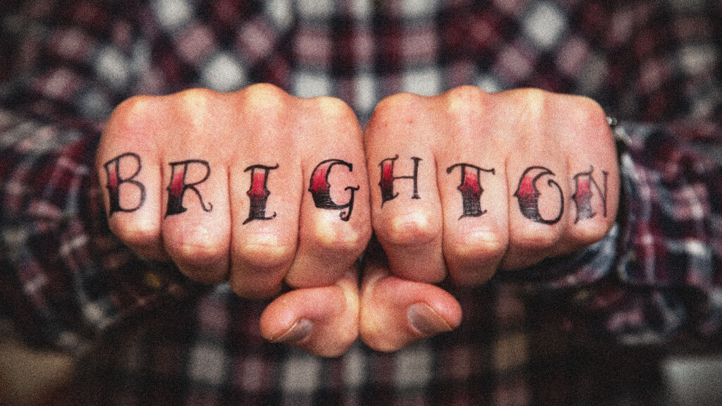 Brighton Hipster Knuckle Tattoo